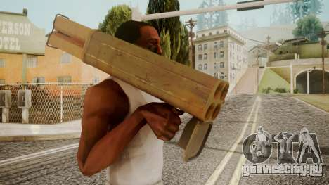 Rocket Launcher by catfromnesbox для GTA San Andreas третий скриншот
