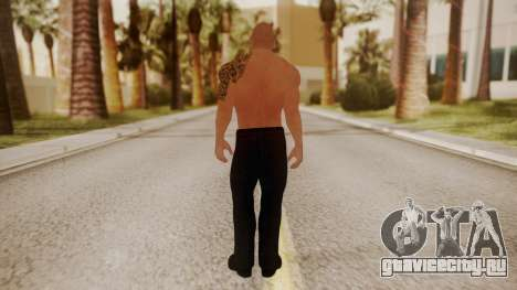 WWE 2K15 The Rock для GTA San Andreas третий скриншот