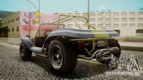 GTA 5 BF Bifta для GTA San Andreas вид слева