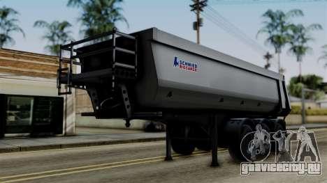 Schmied Bigcargo Solid Trailer Stock для GTA San Andreas