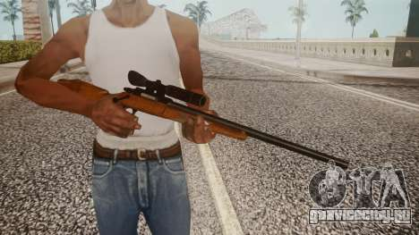 Low Poly Hunting Rifle для GTA San Andreas третий скриншот