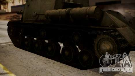 ISU-152 from World of Tanks для GTA San Andreas вид справа