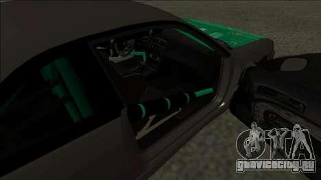Nissan 200sx Drift для GTA San Andreas вид сзади слева