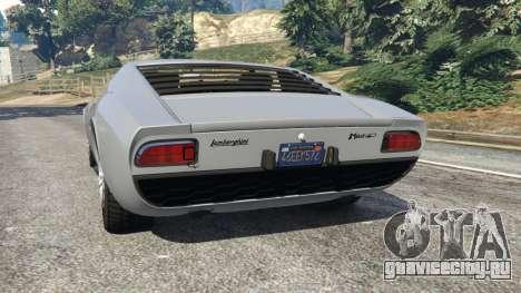 Lamborghini Miura P400 1967 v1.2 для GTA 5