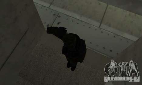 Военное приветствие для GTA San Andreas третий скриншот