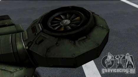 Hornet Halo 3 для GTA San Andreas вид справа