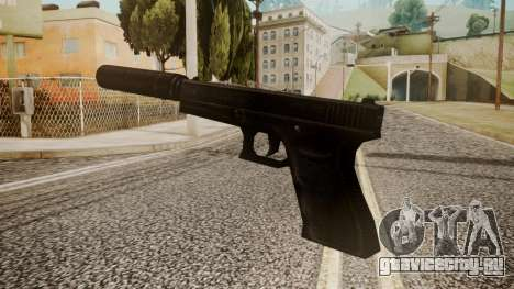 Silenced Pistol by catfromnesbox для GTA San Andreas второй скриншот