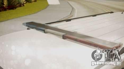 GTA 5 Declasse Granger Park Ranger для GTA San Andreas вид справа