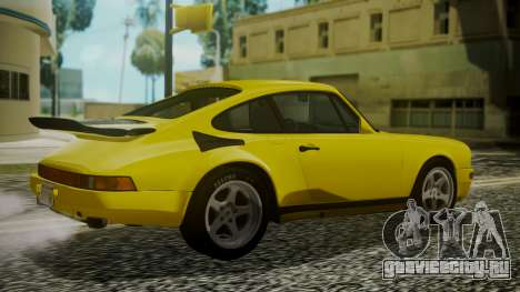 RUF CTR Yellowbird 1987 для GTA San Andreas вид слева
