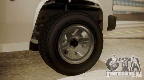 GTA 5 Declasse Rancher XL Police IVF для GTA San Andreas вид сзади слева