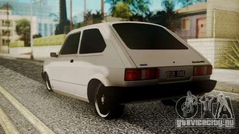 Fiat 147 Spazio-TR для GTA San Andreas вид слева