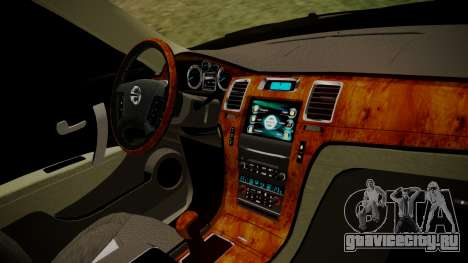 Nissan Patrol IMPUL 2014 для GTA San Andreas вид справа