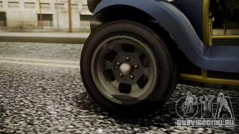 GTA 5 BF Bifta для GTA San Andreas вид сзади слева