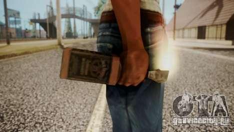 Molotov Cocktail from RE Outbreak Files для GTA San Andreas третий скриншот