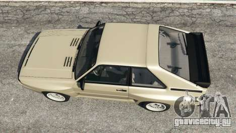 Audi Sport quattro v1.4 для GTA 5 вид сзади