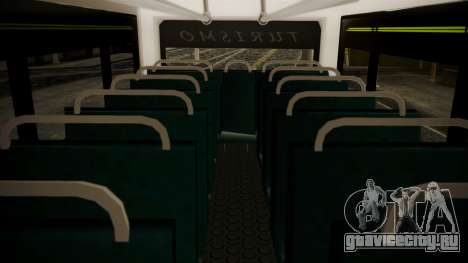Chevrolet B70 Bus Colombia для GTA San Andreas вид сзади