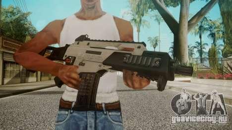 G36C Silver для GTA San Andreas третий скриншот