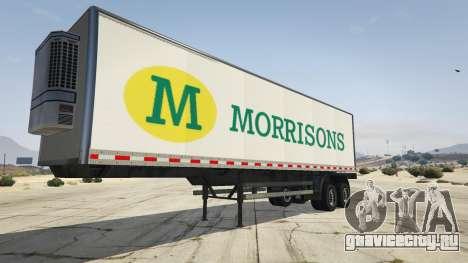 Real Brand Truck Trailers для GTA 5 четвертый скриншот