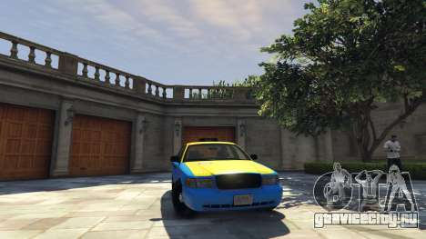Ford Crown Victoria Taxi v1.1 для GTA 5