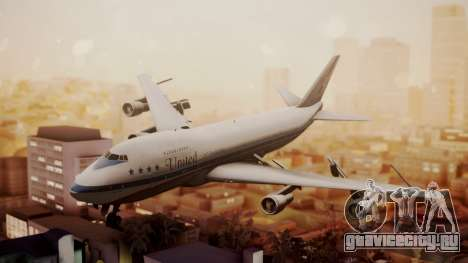 Boeing 747-100 United Airlines Friend Ship для GTA San Andreas
