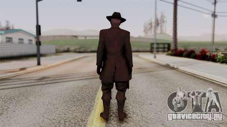 SkullFace Hat для GTA San Andreas третий скриншот