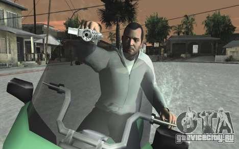 GTA 5 Tec-9 для GTA San Andreas десятый скриншот
