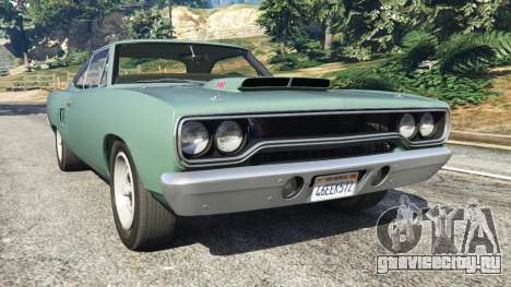 Plymouth Road Runner 1970 [fix] для GTA 5