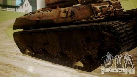 Heavy Tank M6 from WoT для GTA San Andreas вид сзади слева