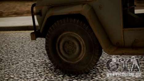 UAZ MGS5 TPP для GTA San Andreas вид сзади слева