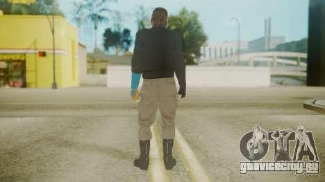 Venom Snake [Jacket] Hand of Jehuty Arm для GTA San Andreas третий скриншот