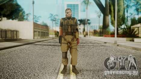 Venom Snake Olive Drab для GTA San Andreas второй скриншот