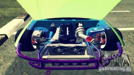 Nissan Silvia S14 для GTA San Andreas вид сзади слева