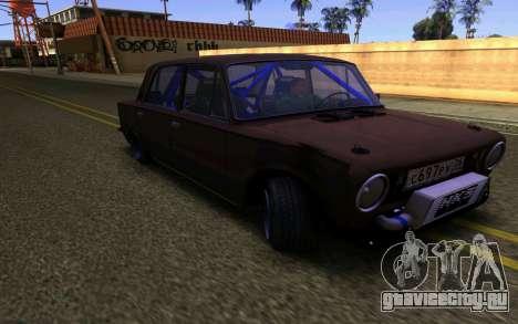 Ваз 2101 Корч для GTA San Andreas вид слева