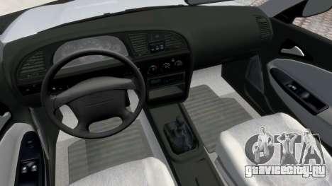 Daewoo Nubira II Sedan S PL 2000 для GTA 4 вид сзади