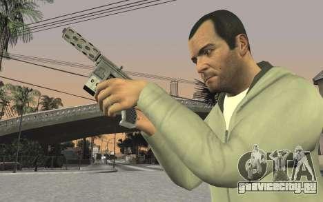GTA 5 Tec-9 для GTA San Andreas восьмой скриншот