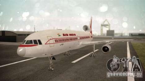 Lockheed L-1011 Air India для GTA San Andreas