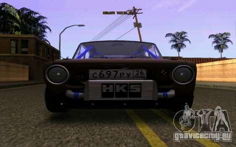 Ваз 2101 Корч для GTA San Andreas вид справа
