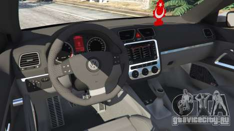 Volkswagen Scirocco [Beta] для GTA 5 вид сзади справа