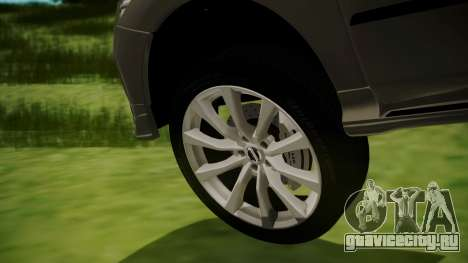 Nissan Patrol IMPUL 2014 для GTA San Andreas вид сзади слева