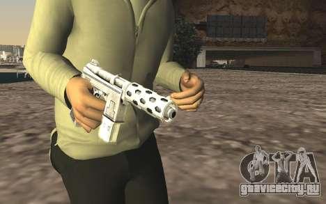 GTA 5 Tec-9 для GTA San Andreas третий скриншот