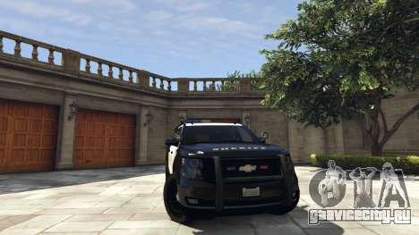 Chevrolet Suburban Sheriff 2015 для GTA 5