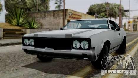 Sabre Turbo from Vice City Stories для GTA San Andreas вид сзади слева