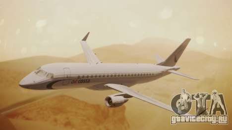 Embraer 170-100 Air Costa для GTA San Andreas