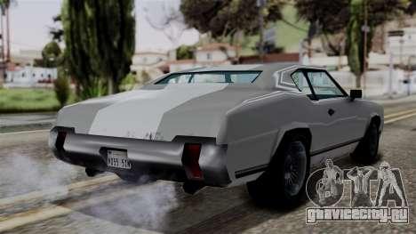 Sabre Turbo from Vice City Stories для GTA San Andreas вид слева