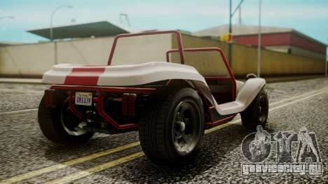 GTA 5 BF Bifta IVF для GTA San Andreas вид слева