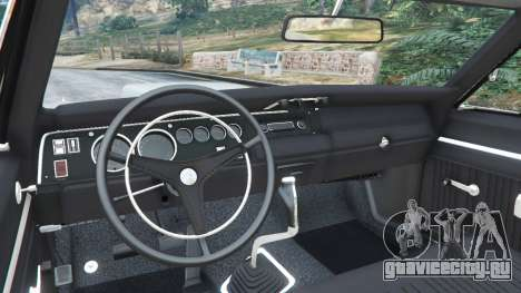 Plymouth Road Runner 1970 [fix] для GTA 5 вид сзади справа