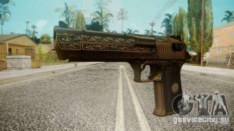 Desert Eagle by EmiKiller для GTA San Andreas
