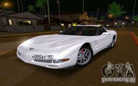 Chevrolet Corvette C5 2003 для GTA San Andreas
