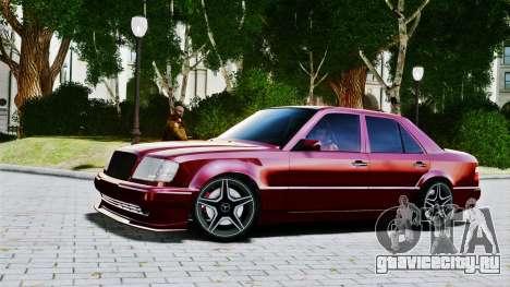 Mercedes-Benz E500 W124 для GTA 4