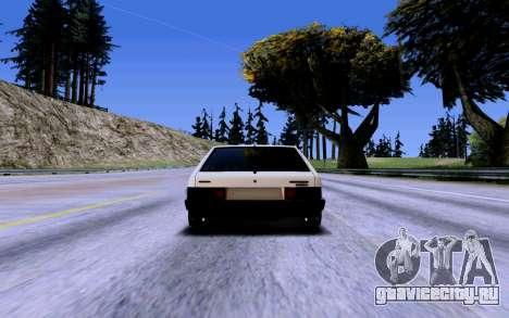 ВАЗ 2109 Турбо для GTA San Andreas колёса